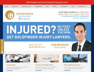 personalinjurylawyertoronto.com screenshot