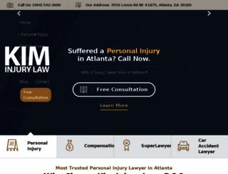 personalinjuryqueen.com screenshot