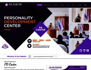 personalitydevelopmentcenter.com screenshot