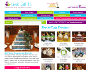 personalizedfavors.lmk-gifts.com screenshot