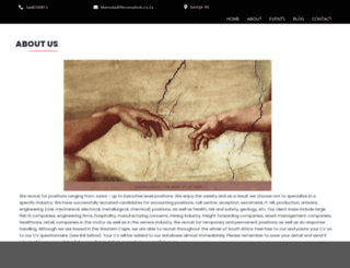 personallink.co.za screenshot