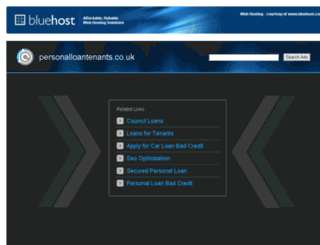 personalloantenants.co.uk screenshot