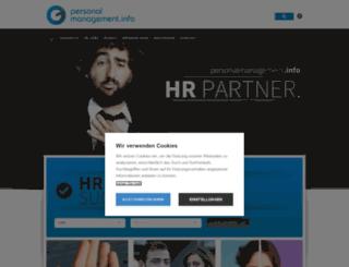 personalmanagement.info screenshot