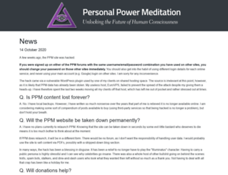personalpowermeditation.com screenshot