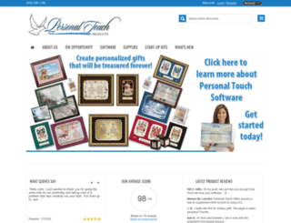 personaltouchproducts.com screenshot