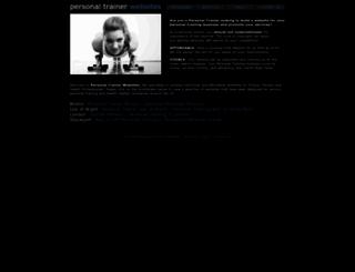 personaltrainerwebsites.co.uk screenshot