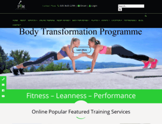 personaltrainingmaster.co.uk screenshot