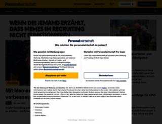 personalwirtschaft.de screenshot