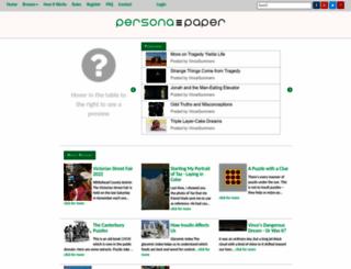 personapaper.com screenshot