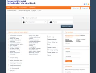 personeelexpert.nl screenshot
