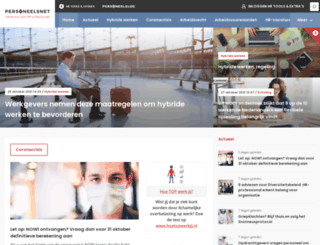 personeelsnet.nl screenshot