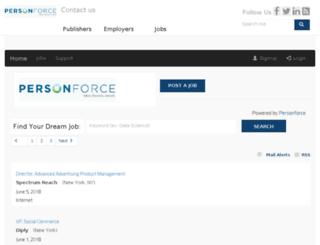 personforce.com screenshot