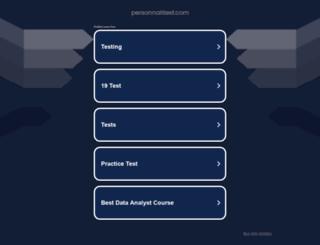 personnalitest.com screenshot