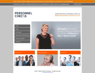 personnelchecks.employmentcheck.org.uk screenshot
