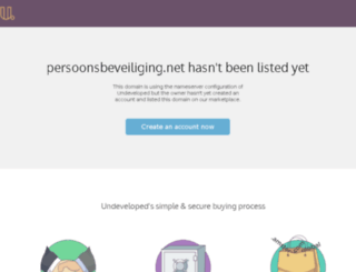 persoonsbeveiliging.net screenshot