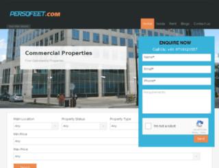 persqfeet.com screenshot