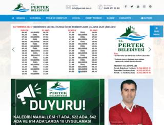 pertek.bel.tr screenshot