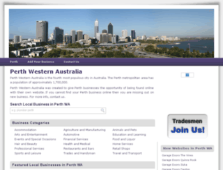 perth-western-australia.com screenshot