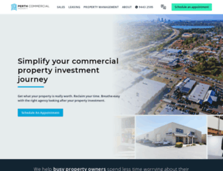 perthcommercialproperty.com.au screenshot