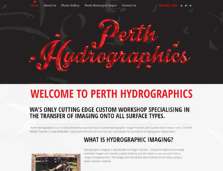 perthhydrographics.com.au screenshot