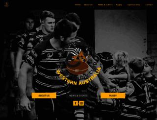 perthrugby.com.au screenshot