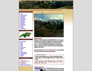 peru-machu-picchu.com screenshot