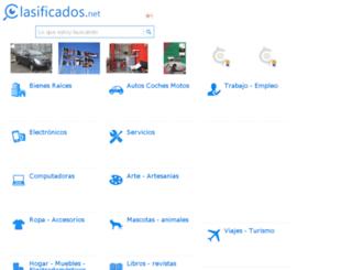 peru.clasificados.net screenshot