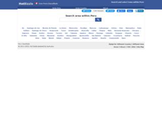 peru.hotbizzle.com screenshot