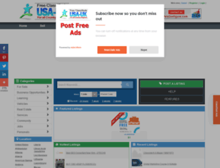 peru.usauk-classifieds.com screenshot