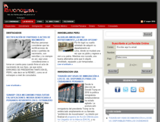peruanosenusa.net screenshot