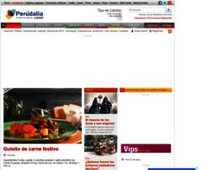 perudalia.com screenshot