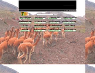 peruecologico.com.pe screenshot