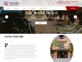 peruibesuiteflathotel.com.br screenshot