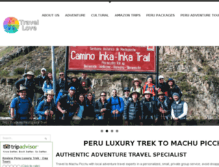 peruluxurytrek.com screenshot