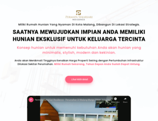 perumahanmalang.com screenshot