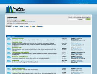 perusingtheshelves.com screenshot
