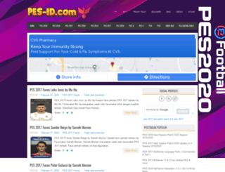 pes-id.com screenshot