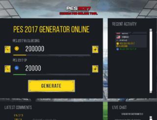 pes.gamesped.com screenshot
