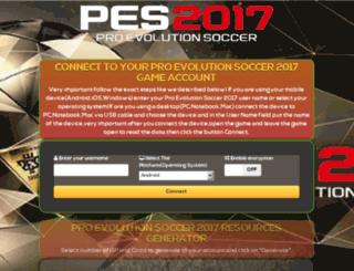 pes2017.mobilepatcher.com screenshot
