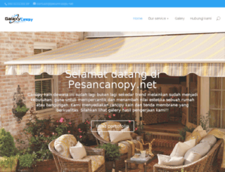 pesancanopy.net screenshot