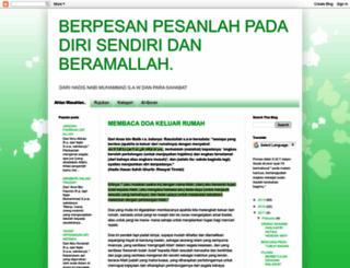 pesanpesanku.blogspot.com screenshot