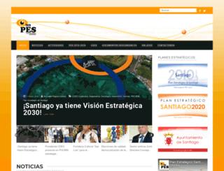 pesantiago.org screenshot