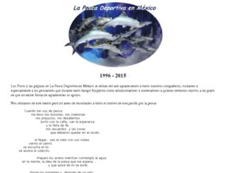 pesca.org.mx screenshot