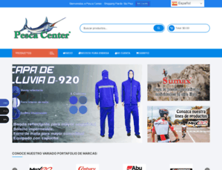 pescacenter.net screenshot