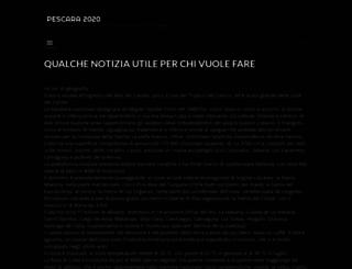 pescara2015.it screenshot