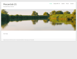 pescarclub21.ro screenshot