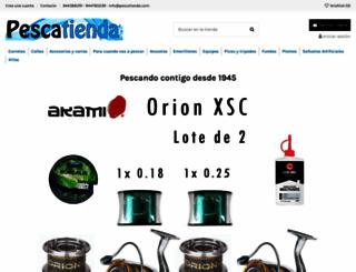 pescatienda.com screenshot