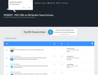pesedit.forum.st screenshot