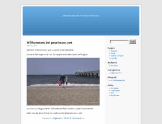 peselmann.net screenshot