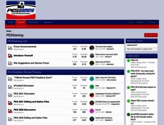pesgaming.com screenshot